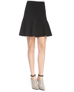 Halston - Fit & Flare Skirt