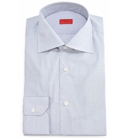 Isaia - Solid Button-Down Dress Shirt