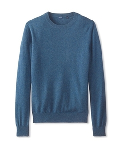 Thirty Five Kent - Cashmere Solid Crew Neck Sweater