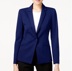 Tahari Asl - Bi-Stretch One-Button Blazer