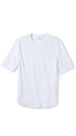 Helmut Lang - Techtelle Pocket Baseball T-Shirt