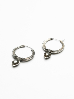 Free People - Hunter Drop Hoop Earrings