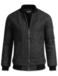 The Lees - Wool Blend Bomber Jacket