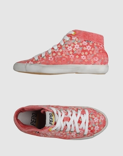 Pepo  - Printed High-Top Sneakers