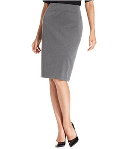 Style&co.  - Pull-On Ponte-Knit Pencil Skirt
