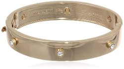 Anne Klein - Gold-Tone Thin Bangle Bracelet