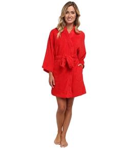 Josie - Coral Fleece Wrap Robe