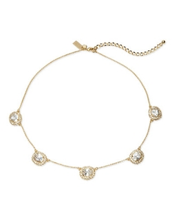 Kate Spade New York  - Sweet Sparkle Pave Chain Necklace