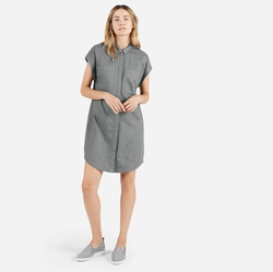 Everlane - The Short-Sleeve Shirt Dress