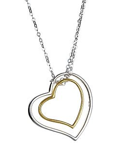 Argento Vivo  - Two Hearts Necklace