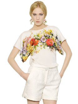 Dolce & Gabbana - Floral Print Top