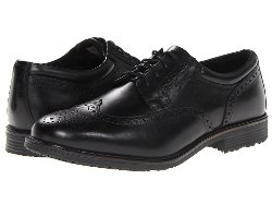Rockport - Essential Details Waterproof Wing Tip Shoes