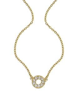 Roberta Chiarella - Pave Donut Necklace