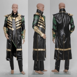 Fashion-Mart - The Dark World Loki Laufeyson Cosplay Costume