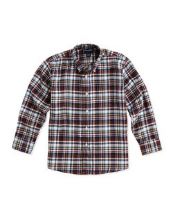 Oscar De La Renta - Plaid Button-Down Shirt