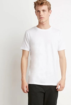 Forever21 - Classic Crew Neck T-Shirt