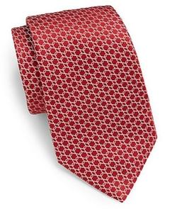 Valentino - Interlocked Silk Tie