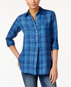 Lauren Ralph Lauren  - Petite Plaid Shirt