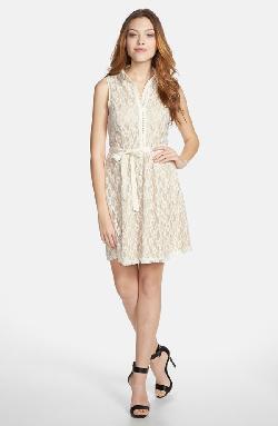 Kensie - Daisy Lace Sleeveless Dress
