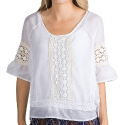 Dylan - Luxe Peasant Blouse