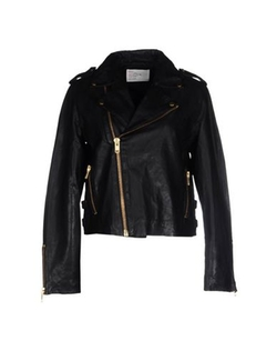 Leon & Harper - Leather Biker Jacket
