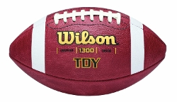 Wilson  - TDY Youth Leather Game Football