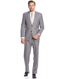 Izod - Grey Sharkskin Suit