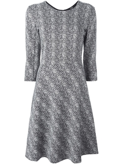 Steffen Schraut   - Herringbone Flared Dress