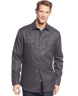 Alfani - Quilt-Lined Shirt Jacket
