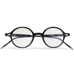 Thom Browne - Acetate Round Frame Optical Glasses