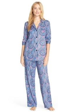 Lauren Ralph Lauren  - Print Sateen Pajamas