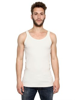 Dolce & Gabbana - Ribbed Stretch Cotton Jersey Tank Top