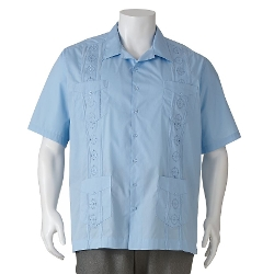 Havanera - Embroidered Casual Button-Down Shirt
