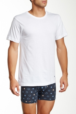 Lucky Brand - Basic Crew Neck Tee Shirt