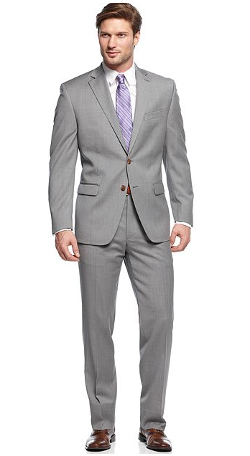 Ralph Lauren - Suits Light Grey Solid