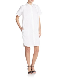 DKNY - Short Sleeve Shirtdress