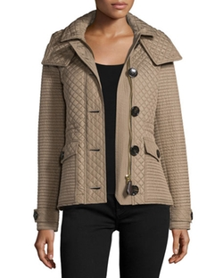 Burberry Brit  - Nealsbrooke Multi-Quilt Hooded Jacket