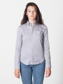 American Apparel - Pinpoint Oxford Button-Down Shirt