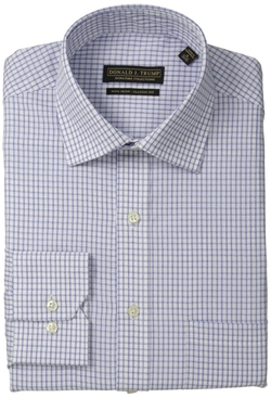 Donald Trump - Non Iron Check Dress Shirt