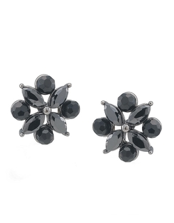 Carolee - Crystal Flower Earrings