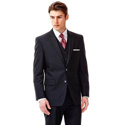 Haggar  - Slim-Fit Black Suit Jacket