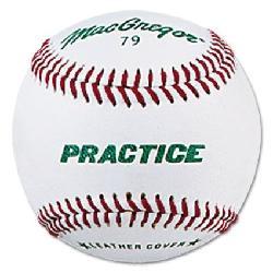 Macgregor  - Boys Practice Baseball, White