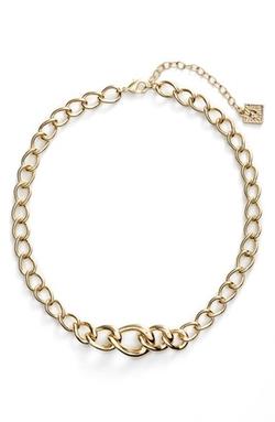 Anne Klein  - Chain Frontal Necklace