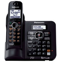 Panasonic - KX TG6641B DECT 6.0 Cordless Phone