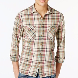 Quiksilver - Sunset Visitors Flannel Plaid Shirt