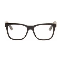 Versace - Black Rectangular Glasses