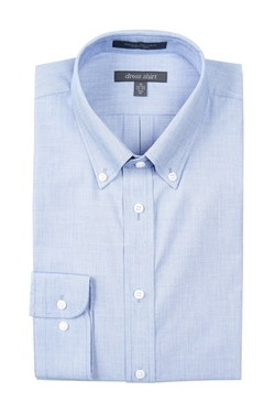 Stafford - Chambray Dress Shirt