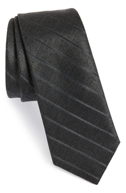 W.R.K  - Stripe Wool & Silk Tie