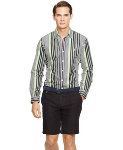 Polo Ralph Lauren - Striped Sateen Shirt