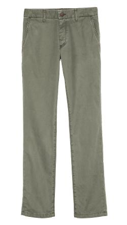 Grown & Sewn - Slim Fit Twill Chinos